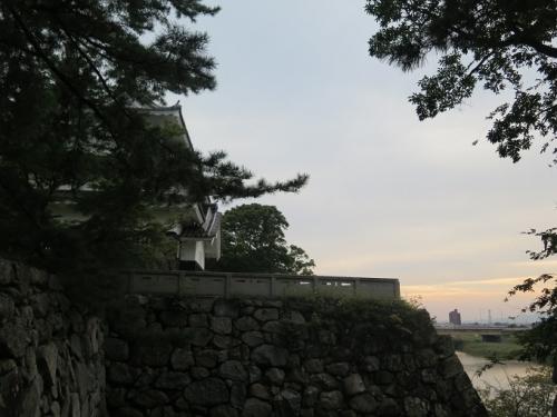 豊橋公園 北御多門跡から鉄櫓