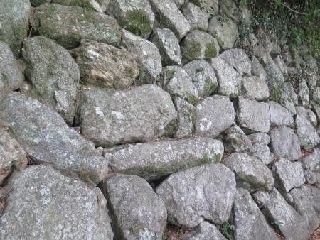 豊橋公園 石垣