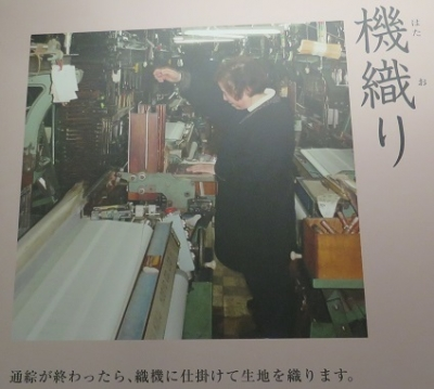 富岡製糸場 機織(はたおり)