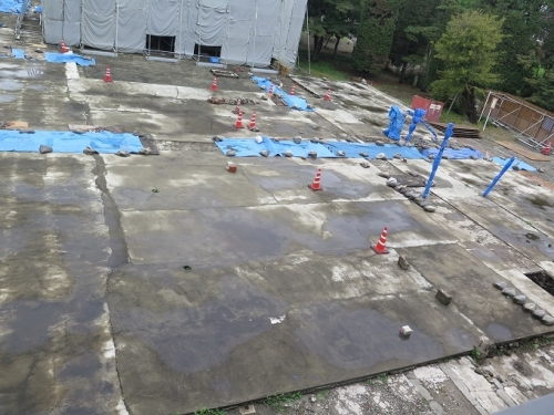 富岡製糸場 乾燥場跡