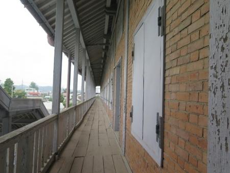 富岡製糸場 東置繭所2階