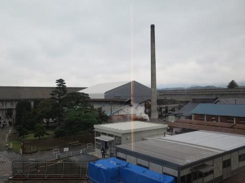 富岡製糸場 西置繭所から