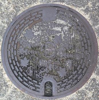 群馬県 富岡マンホール