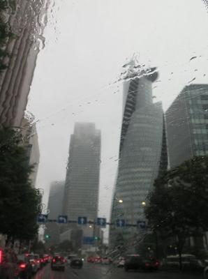 2017台風21号の名古屋