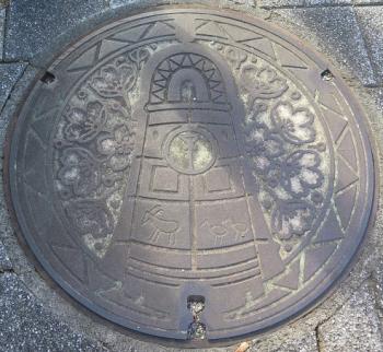 静岡県 気賀マンホール