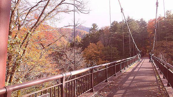 湯西川温泉つり橋