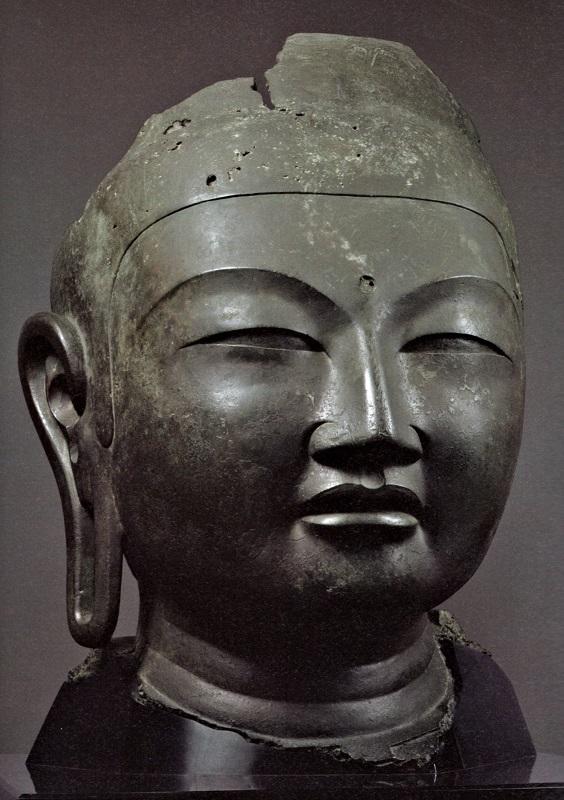 興福寺仏頭(山田寺旧仏)