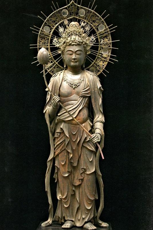 弥勒菩薩立像(鎌倉)個人蔵
