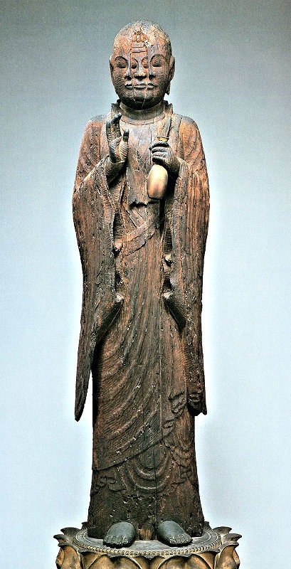 南禅寺のある地から江戸時代に移された西住寺・宝志和尚像(平安・重文)