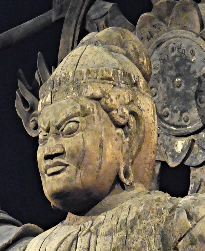東京荒川区~養福寺・二天像(左方像)