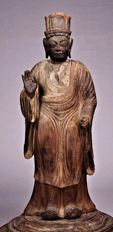 東京国立博物館蔵・帝釈天像
