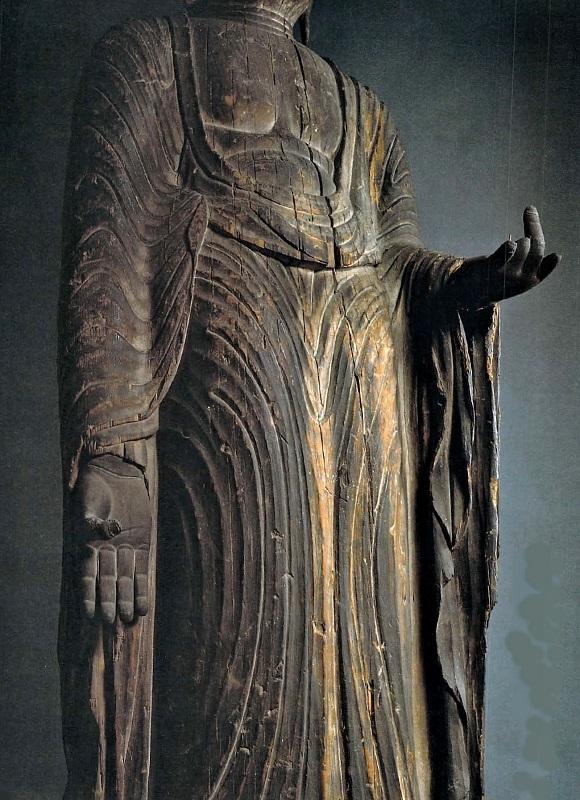 芸術新潮・特集「出現!謎の仏像~美術史の革命」掲載の太平寺・地蔵菩薩像の迫力ある写真