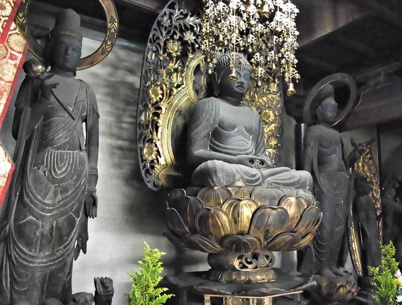 大平寺(堺市)・阿弥陀三尊像