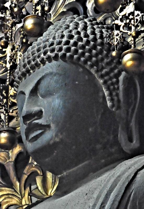 大平寺・阿弥陀如来像顔部~眼の無い仏像