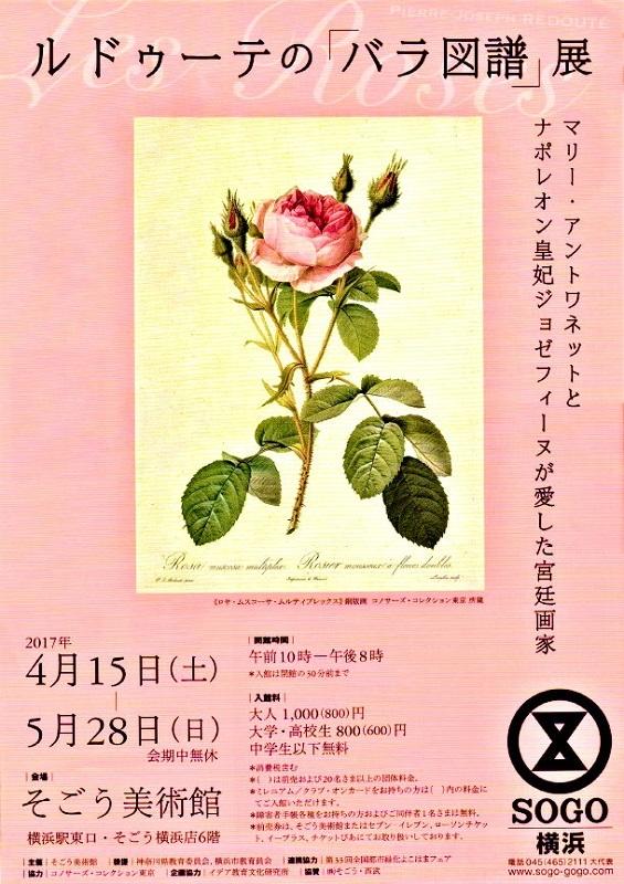 ルドゥーテのバラ図譜展