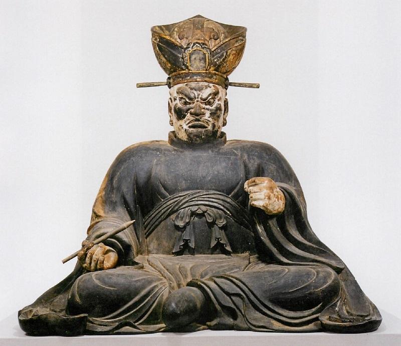 白毫寺・大山王坐像(鎌倉・重文)~康円作・正元元年(1259)