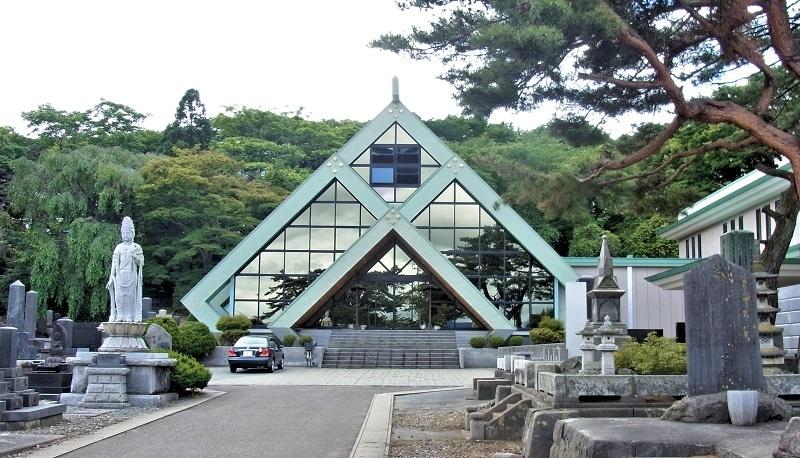 秋田市・全良寺本堂