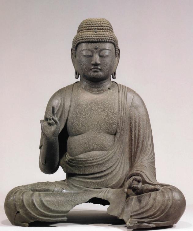 全良寺・銅造阿弥陀如来像(平安~鎌倉・重文)