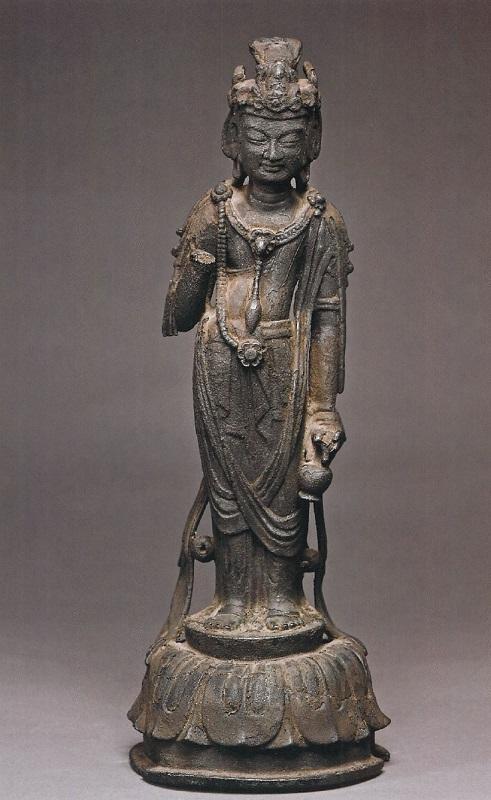 正伝寺・小金銅仏観音像(奈良・県指定)