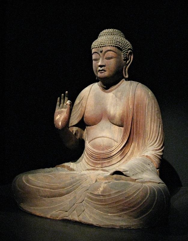 文化庁所蔵・阿弥陀如来像(平安後期・重文)丹波長楽寺伝来