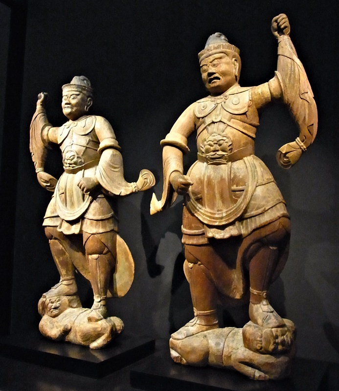 文化庁所蔵・二天像(平安後期・無指定)丹波長楽寺伝来