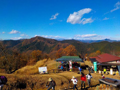 027陣馬山からの景色