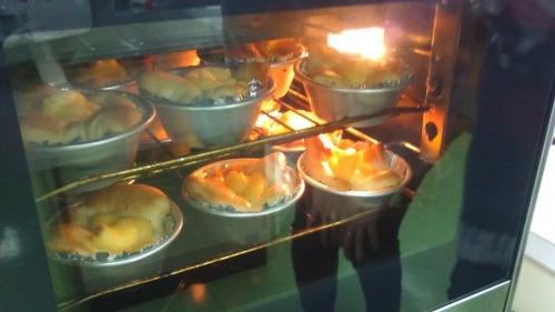 パン作り⑤オーブン