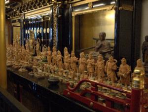 素晴らしい仏像の数々