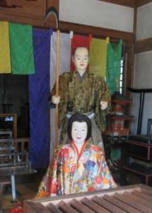 元々あった芦刈の夫婦像