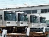 東京メトロ03系5ドア先頭車群 竹ノ塚検車区にて