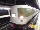 JR189系あさま色 快速ムーンライト信州 白馬行き 新宿にて