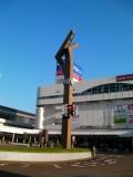 JR長岡駅 東口の時計台