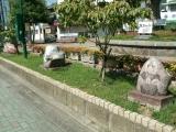 JR大竹駅 巨石アート2