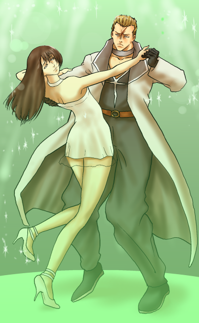 リノアとサイファーのダンス改