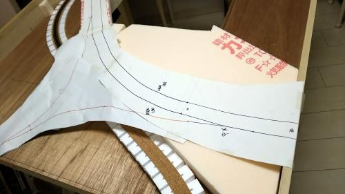 地下ヤード線・第2本線デルタ部 (28)-1