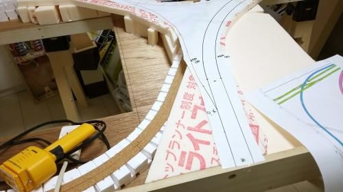 地下ヤード線・第2本線デルタ部 (28)-5