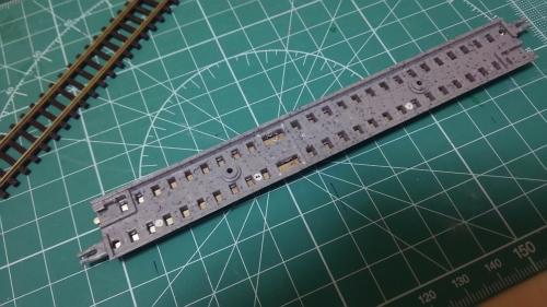 TOMIXファイントラックにPECOコード55 (1)