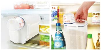 冷蔵庫用米びつ1