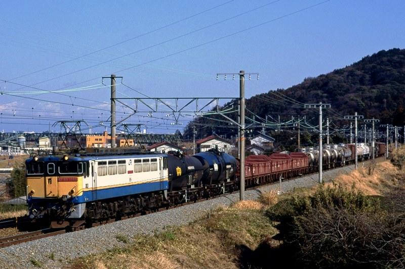 1996年2月23日 島田~金谷にて