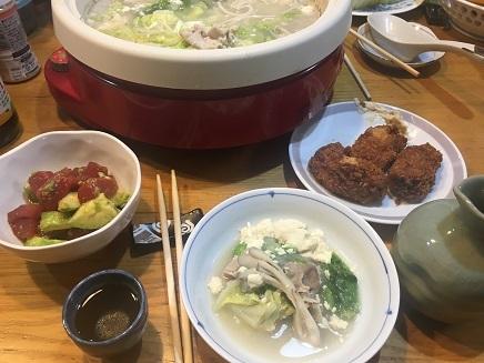 11052017 夕食鍋S