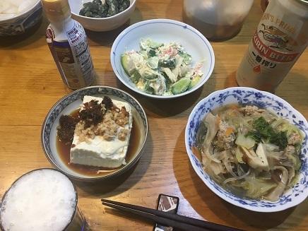 10252017 夕飯S