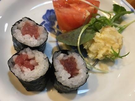 11152017 Dinner鉄火巻S2