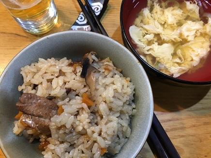 11172017 夕飯のどぐろ飯S2