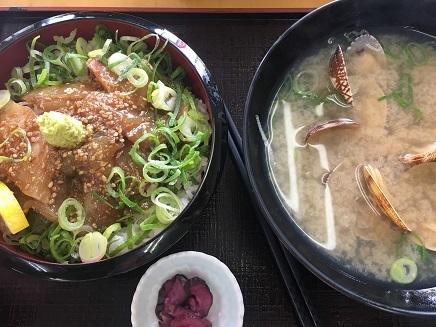 12142017 Lunch漬丼貝汁S