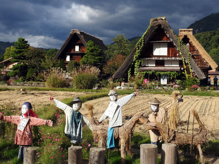 10月の3連休は世界遺産白川郷へ1