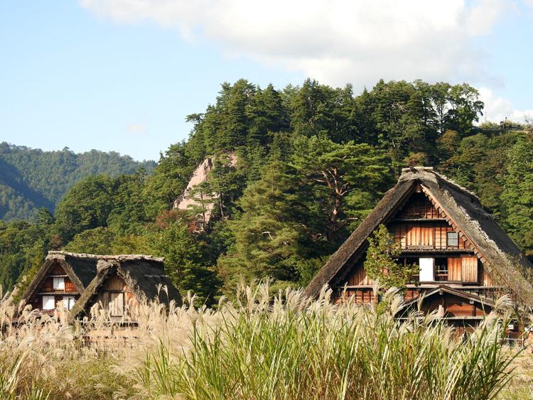 山に囲まれた飛騨 白川郷だけに、「紅葉」も見どころのひとつ8