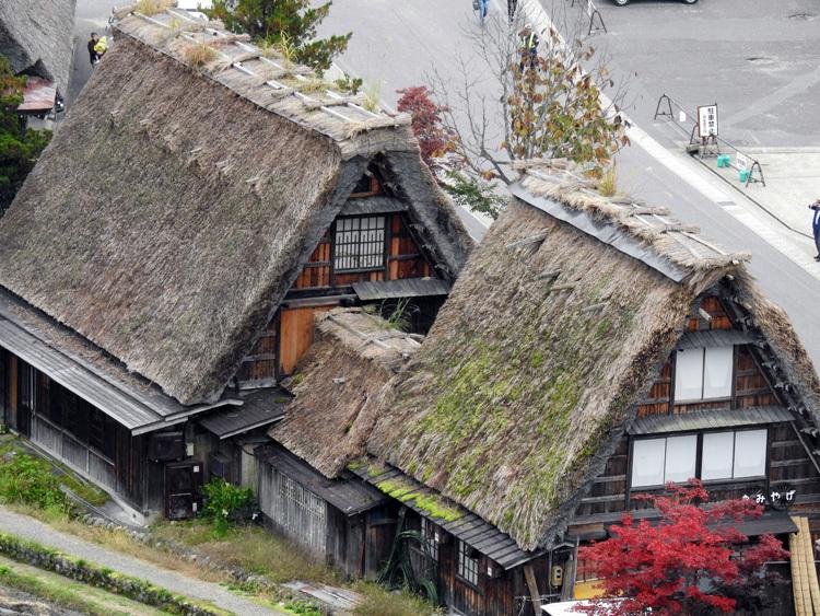 世界遺産白川郷の秋を楽しむやすらぎの旅行5
