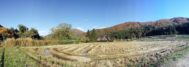 秋晴れの ハロウイン 世界遺産白川郷12