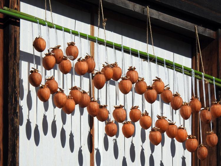 秋から冬へと移り行く白川郷の景色も7