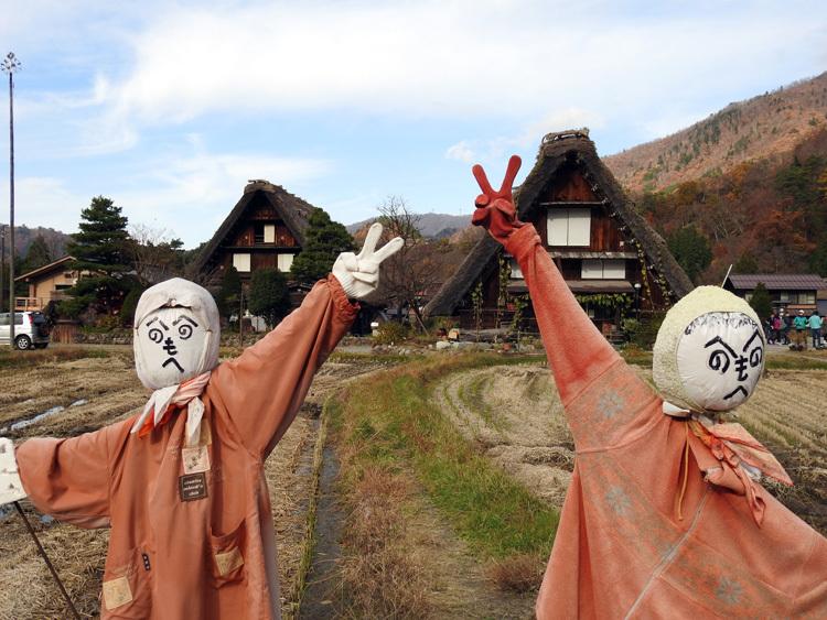 繰り返し訪れる人も少なくない世界遺産 白川郷合掌造り集落3